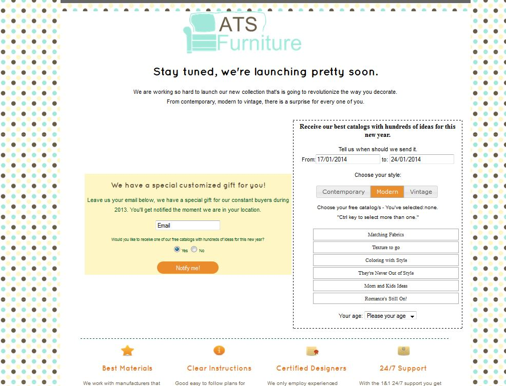 ats-furniture-custom-landing-page