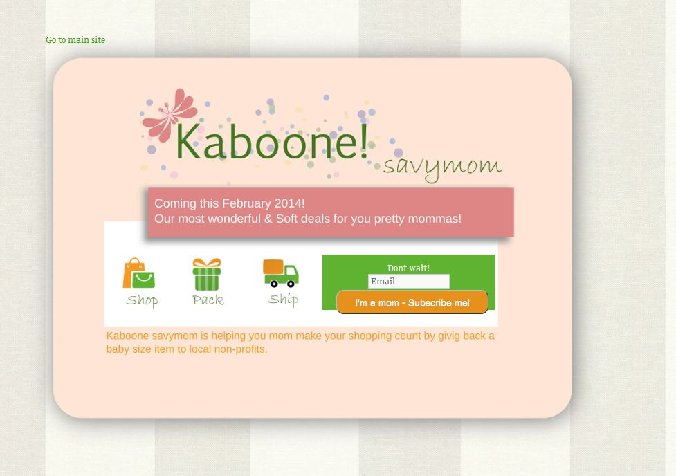 kaboone-splash-page