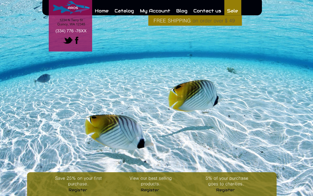 aros-fishing-website